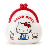 Hello Kitty存錢筒 陶瓷口金包造型存錢筒/儲金筒新年 [喜愛屋]