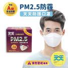 【天天PM2.5防霾口罩-紫色警戒專用】每盒10+1入 1盒販售 A級安全防護