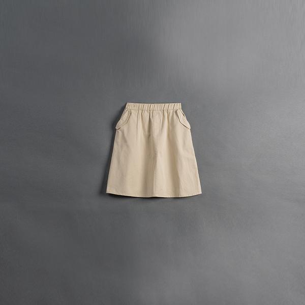 Queen Shop【03021009】童裝 親子系列口袋側蓋設計長裙 兩色售S/ML*現+預*