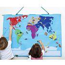 瑞典oskar&ellen-世界地圖-W...