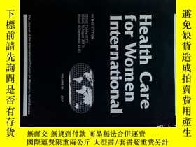 二手書博民逛書店Health罕見Care for Women International 07-08-09 2019 婦女保健