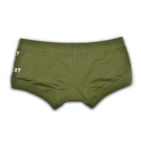 【Sexy cat】原色系列 舒適平口褲 (超質感綠) M-XL全館免運