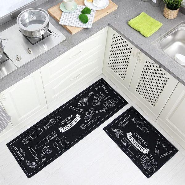廚房地墊 吸水隔油廚房門廳進門地墊入戶防滑墊浴室腳墊墊【快速出貨八折搶購】
