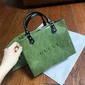 大牌紙袋改造DIY材料包 ( 含紙袋 ) GUCCI 包包 手提袋 名牌紙袋包