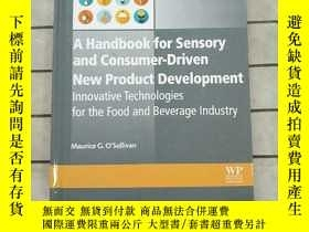 二手書博民逛書店A罕見Handbook for Sensory and Consumer-Driven... 進口原版 Y26