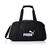 PUMA 黑色運動健身行李袋-NO.07572201