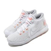 Nike 籃球鞋 KD Trey 5 VIII EP 白 橘 男鞋 React 杜蘭特 運動鞋 【ACS】 CK2089-102