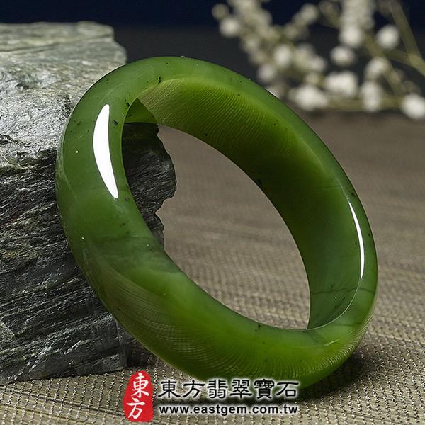 和闐碧玉手鐲(閃玉,俄羅斯碧玉,圓鐲18)RA012嚴選和闐玉,手工精雕,訂製珠寶。附玉石雙證書