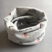兒童圍脖男 純棉女圍巾寶寶防風嬰兒 保暖小孩潮款套頭脖套魔法鞋櫃