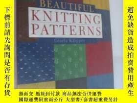 二手書博民逛書店Beautiful罕見Knitting Patterns 《漂亮