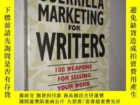 二手書博民逛書店原版罕見Guerrilla Marketing for Writ