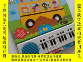 二手書博民逛書店英語童瑤小電子琴罕見Piano Playtime Nursery