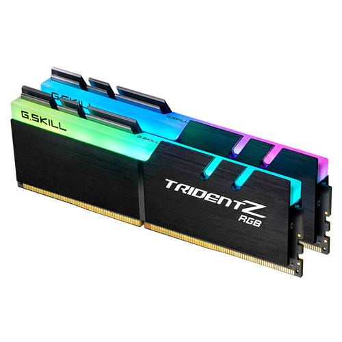 芝奇 G.SKILL Trident Z RGB 幻光戟 DDR4-3200 16GBx2 超頻記憶體 F4-3200C16D-32GTZR