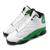 Air Jordan 13 Retro GS 白 綠 女鞋 大童鞋 喬丹 13代 XIII Ray Allen 【ACS】 DB6536-113