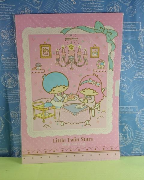 【震撼精品百貨】Little Twin Stars KiKi&LaLa 雙子星小天使~文件夾本_L夾