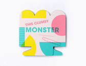 This Clumsy Monster 笨手笨腳的怪物 造型硬頁書