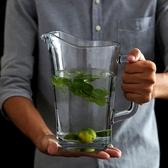 進口玻璃冷水壺涼水壺家用大容量耐熱水壺飲料水果茶汁扎壺水杯