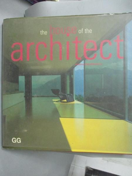 【書寶二手書T2/建築_XGE】House of the Architect_Anatxu Zalbeascoa