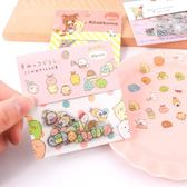 角落生物貼紙-韓國創意小清新角落生物貼紙透明卡通可愛貼紙包diy手賬裝飾貼