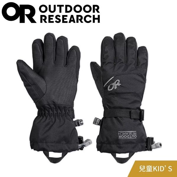 【Outdoor Research 美國 兒童 ADRENALINE 手套《黑》】243196/兒童手套/保暖手套