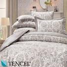 【Jenny Silk名床】艾菲爾.100%天絲.360條紗.超柔觸感.特大雙人床罩組全套