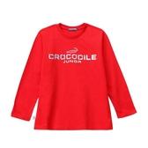 『小鱷魚童裝』LOGO銀蔥印花T恤(08號~18號)556404