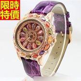 鑽錶-新品焦點百搭女腕錶7色5j16【巴黎精品】