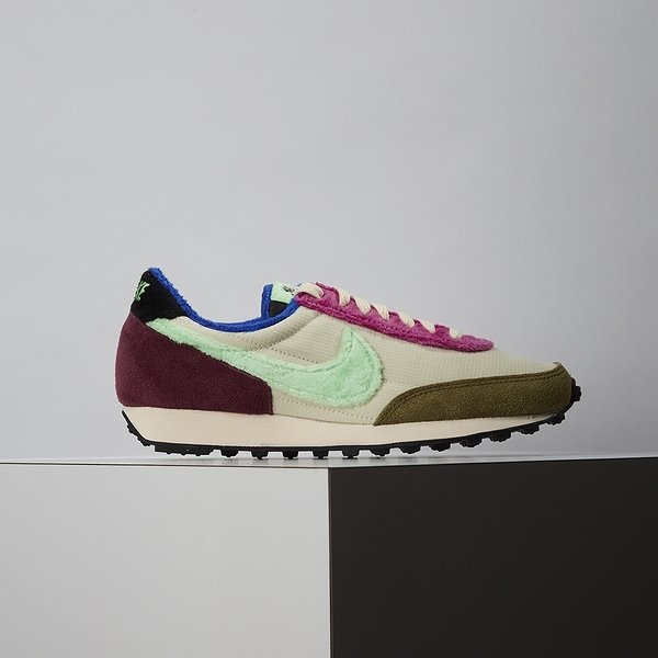 Nike Daybreak 女鞋 粉綠棕 毛絨 休閒鞋 DC3275-235