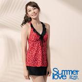 【Summer Love 夏之戀】水玉點點三件式泳衣(E17792)