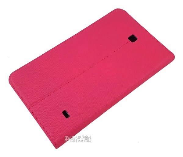 【Xmart】十字紋側掀皮套 Samsung Galaxy Tab 4 7.0 LTE T230 T235 平板