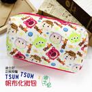 ☆小時候創意屋☆ 迪士尼 正版授權 熊抱哥 TSUM TSUM 帆布 化妝包 筆袋 收納包 鉛筆盒