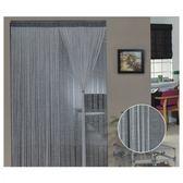 金格拉斯雙層雙色銀蔥線簾90x240cm灰