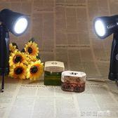 攝影燈 補光燈 LED暖白光燈攝影燈 小商品影室燈射燈直播柔光攝影棚補光燈 igo 歐萊爾藝術館