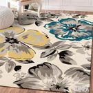 北歐簡約幾何客廳地毯現代沙發茶幾墊臥室床邊家用地墊地毯長方形 PA7562『紅袖伊人』