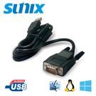SUNIX USB to RS-232轉換器 (UTS1009D)