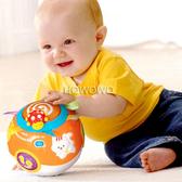 Vtech 啟蒙早教寶寶玩具 炫彩聲光滾滾球 473136 好娃娃