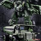 變型機器人 變形玩具金剛合金大力神重載擎天SS柱大黃蜂汽車機器人模型