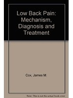 二手書博民逛書店 《Low Back Pain》 R2Y ISBN:0683021516│JamesM.Cox