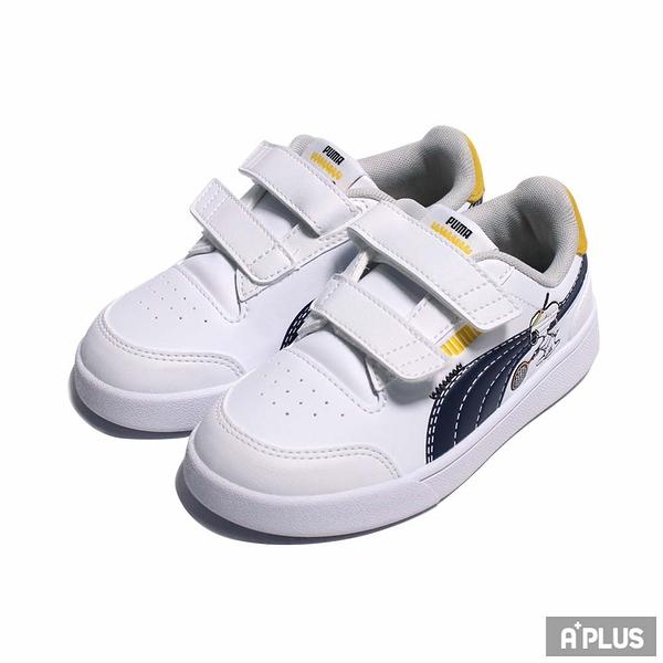 PUMA 童鞋 PEANUTS PUMA SHUFFLE V INF 史奴比 聯名款 魔鬼氈魔鬼氈-37574101