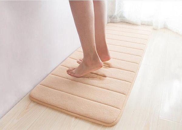 【TT】地毯 地墊 加厚珊瑚絨吸水記憶回彈地毯 防滑墊 浴室墊 40*60cm