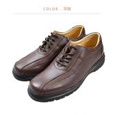 Waltz-「MIT」荔紋真皮紳士鞋 514041-03深咖