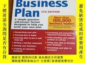 二手書博民逛書店Your罕見First Business Plan: A Sim