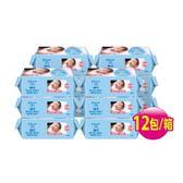嬌生嬰兒純水柔濕巾加厚型80片x12包(箱)-箱購