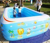 兒童游泳池嬰兒家用新生兒寶寶小孩成人超大號充氣家庭水池洗澡池    琉璃美衣