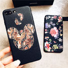 【紅荳屋】iPhoneX蝴蝶米奇皮紋手機殼 新款iphoneX手機保護套