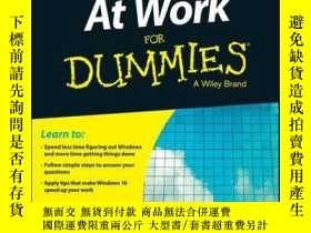 二手書博民逛書店Windows罕見10 At Work For DummiesY410016 Ciprian Rusen I