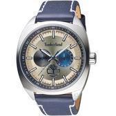 Timberland街頭勁酷時尚手錶 TBL.15931JS/14 香檳色