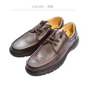 Waltz-「MIT」輕量簡約紳士鞋514043-03深咖