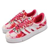 adidas 休閒鞋 Sambarose W 紅 白 女鞋 渲染 厚底 增高 愛迪達 三葉草 【ACS】 GX2893