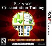 3DS Brain Age: Concentration Training 川島隆太博士監修 腦的5分鐘魔鬼鍛鍊(美版代購)